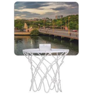 Estero Salado River Guayaquil Ecuador Mini Basketball Backboard