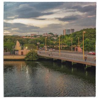 Estero Salado River Guayaquil Ecuador Napkin