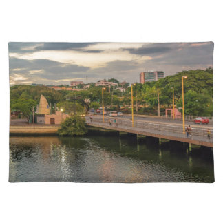 Estero Salado River Guayaquil Ecuador Placemat