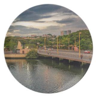 Estero Salado River Guayaquil Ecuador Plate