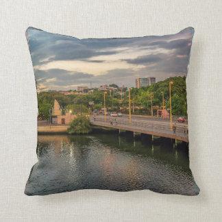 Estero Salado River Guayaquil Ecuador Throw Pillow