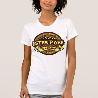 Estes Park Color Logo Intense Brown T-Shirt
