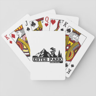 Estes Park Colorado Poker Deck