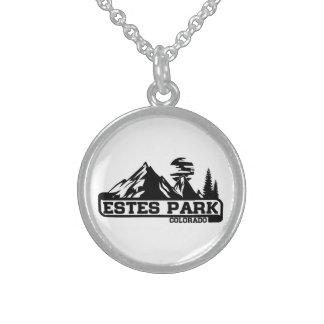 Estes Park Colorado Sterling Silver Necklace