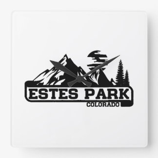 Estes Park Colorado Wallclock