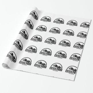 Estes Park Colorado Wrapping Paper