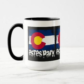 Estes Park Grunge Flag Mug