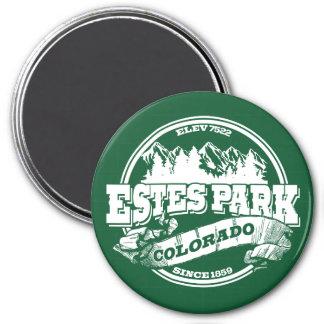 Estes Park Old Circle Green Magnet
