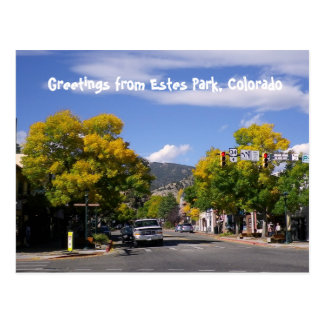Estes Park Postcard