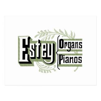 Estey Organs & Pianos Postcard