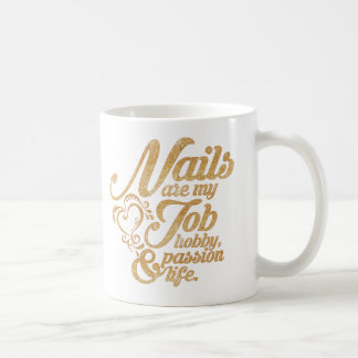 Esthetician job coffee mug