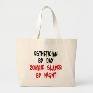 Esthetician Zombie Slayer Large Tote Bag
