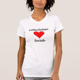 Estheticians Love Facials T-Shirt