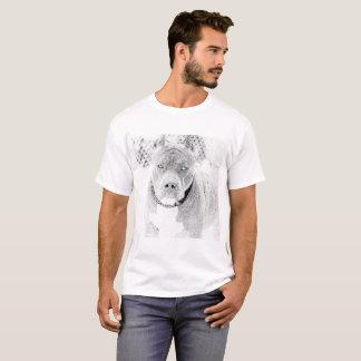 Estilosa t-shirt Pitbull Club