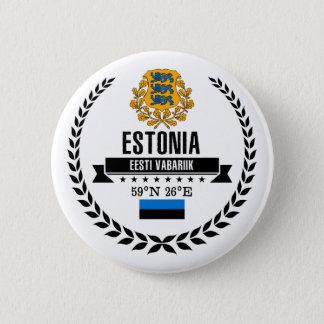 Estonia 2 Inch Round Button