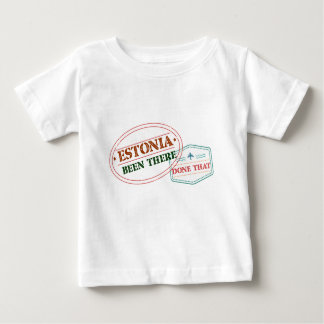 Estonia Been There Done That Baby T-Shirt