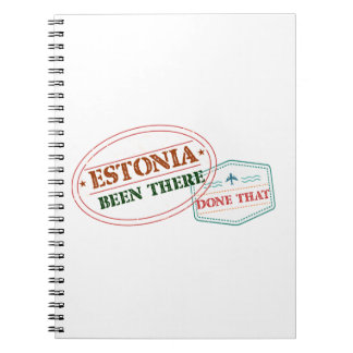 Estonia Been There Done That Spiral Notebook