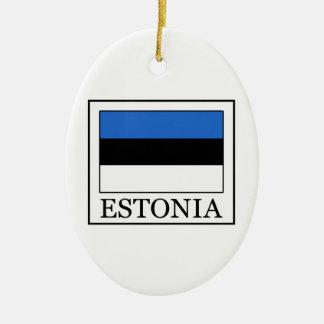 Estonia Ceramic Ornament