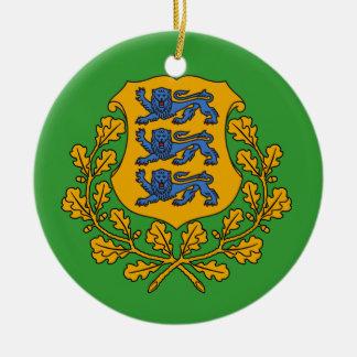 ESTONIA* Custom Christmas Ornament
