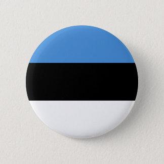 Estonia Flag 2 Inch Round Button