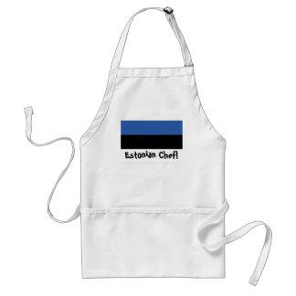 Estonia flag Chef apron