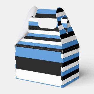 Estonia Flag Favor Box