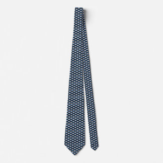 Estonia Flag Honeycomb Tie