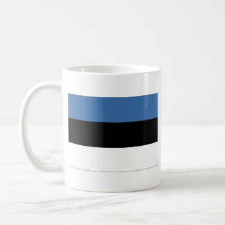 Estonia Flag ~ Map Mug
