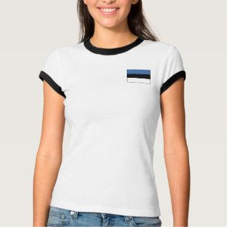 Estonia Flag + Map T-Shirt