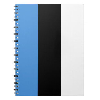 Estonia Flag Notebook