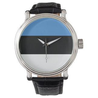 Estonia Flag Watch