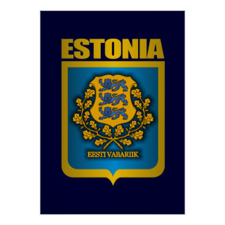 """Estonia Gold"" Posters & Prints"
