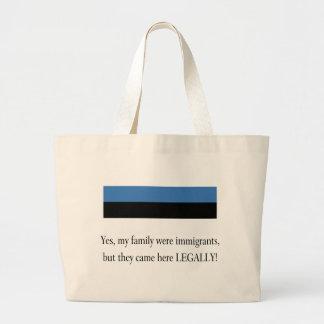 Estonia Jumbo Tote Bag