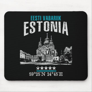 Estonia Mouse Pad