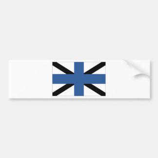 Estonia Naval Jack Bumper Sticker