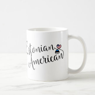 Estonian American Entwined Hearts Mug