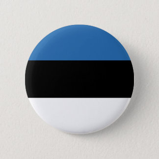 Estonian Falg 2 Inch Round Button