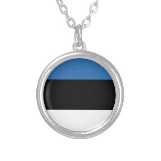 Estonian Falg Silver Plated Necklace