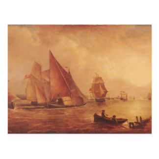 Estuary of the Thames and the Medway Postcard