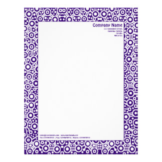 ET Circuity - Dark Purple (320070) Letterhead