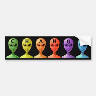 ET Coalition for Change Bumper Sticker