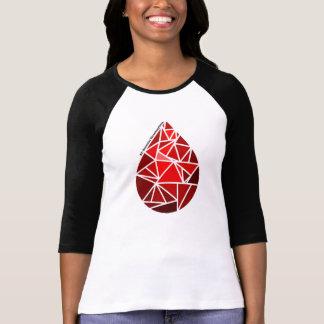 ET: essential thrombocythemia Raglan T-Shirt