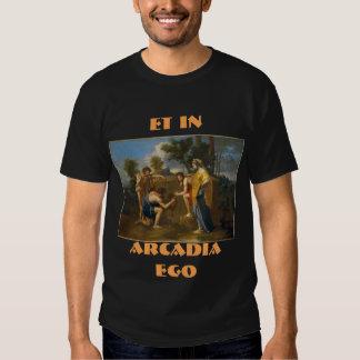 ET IN ARCADIA EGO T SHIRTS