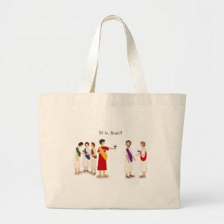 """Et tu, Brute?"" Julius Caesar Large Tote Bag"
