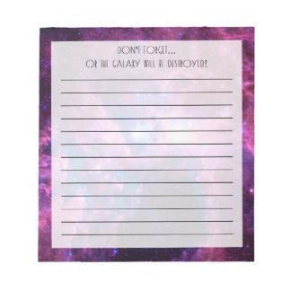 Eta Carina Notepad