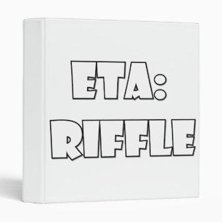 ETA: Riffle Binder