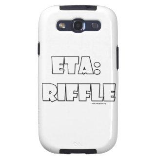 ETA: Riffle Samsung Galaxy SIII Case
