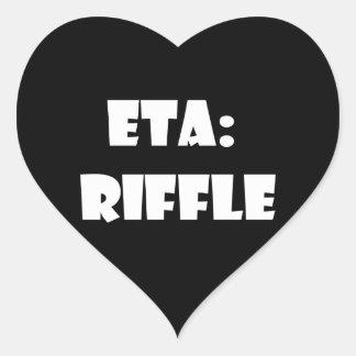 ETA Riffle Sticker