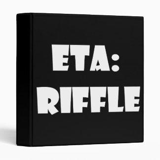 ETA: Riffle Vinyl Binders