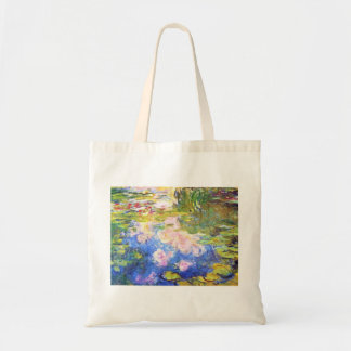 Étang Claude Monet de nénuphar Sac En Toile